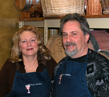 Randy Sorensen and Debbie Horth, your Local Vintners
